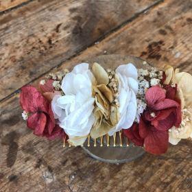 Peineta Silvestre en flor preservada