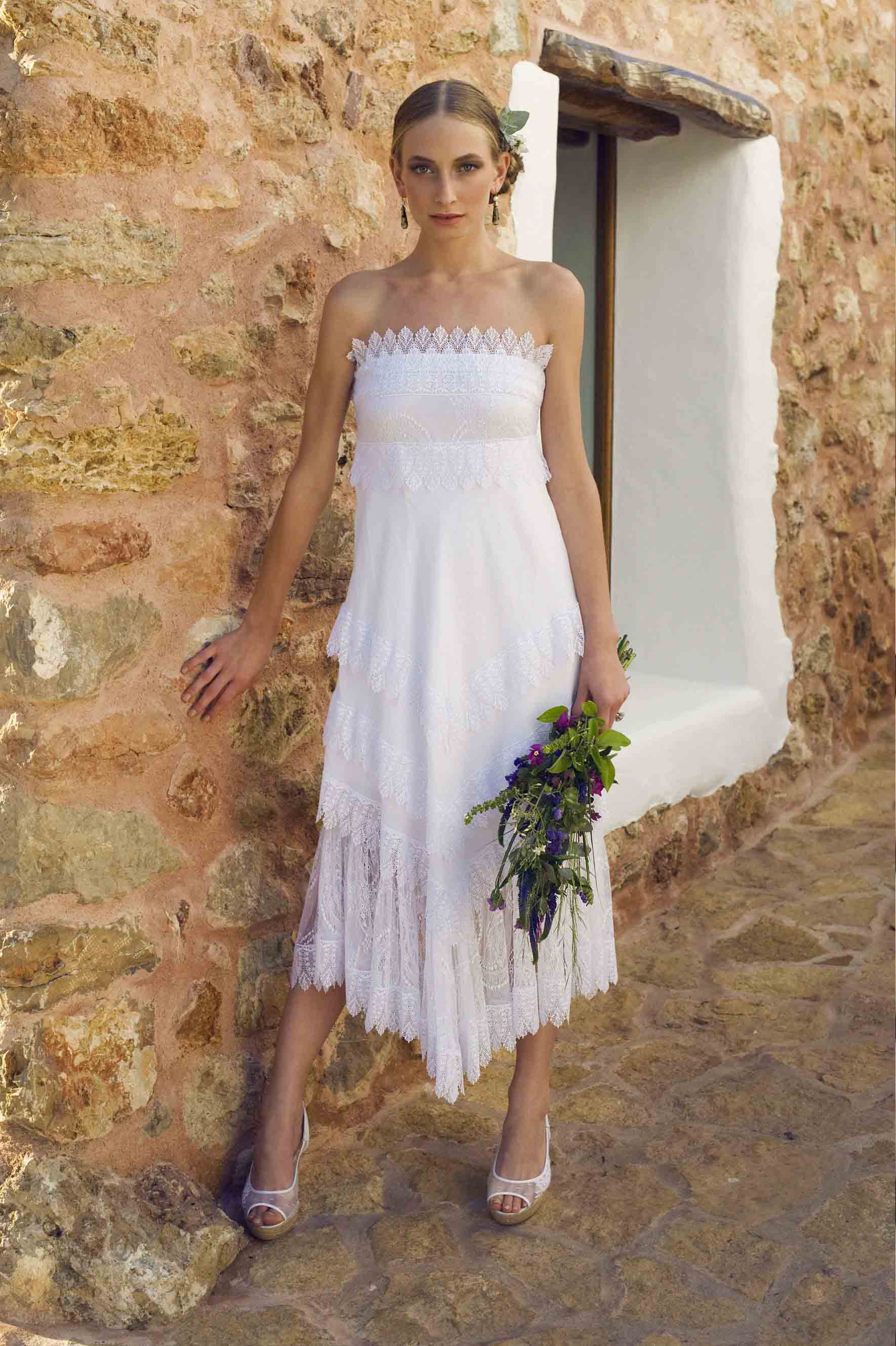 Fotos de vestidos de novia ibicencos