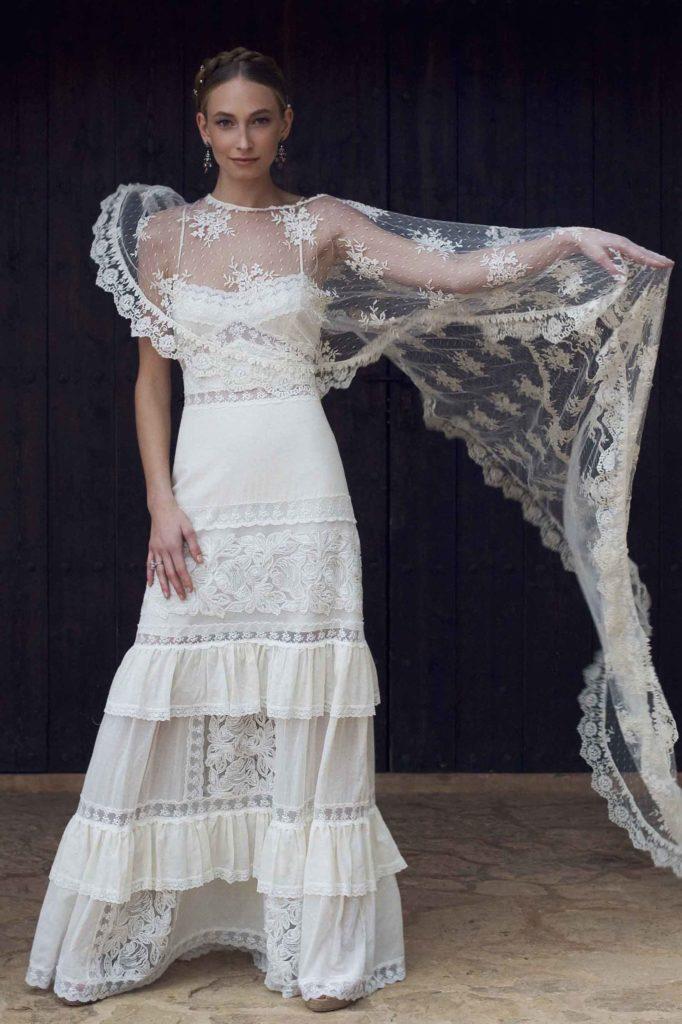Vestido Romántico 00324
