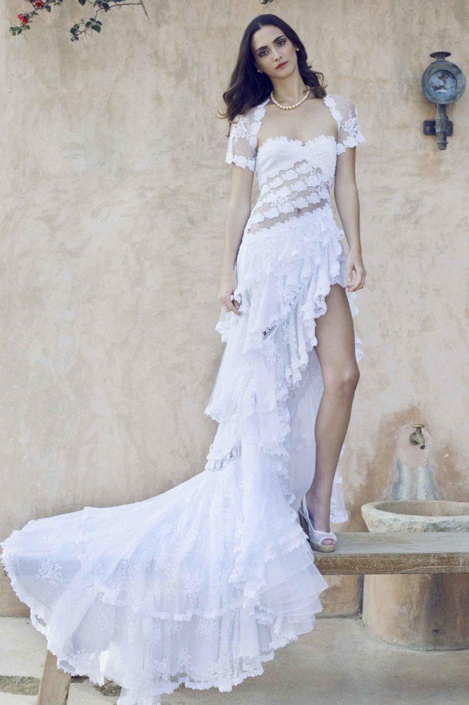 Vestido Rosas 00330