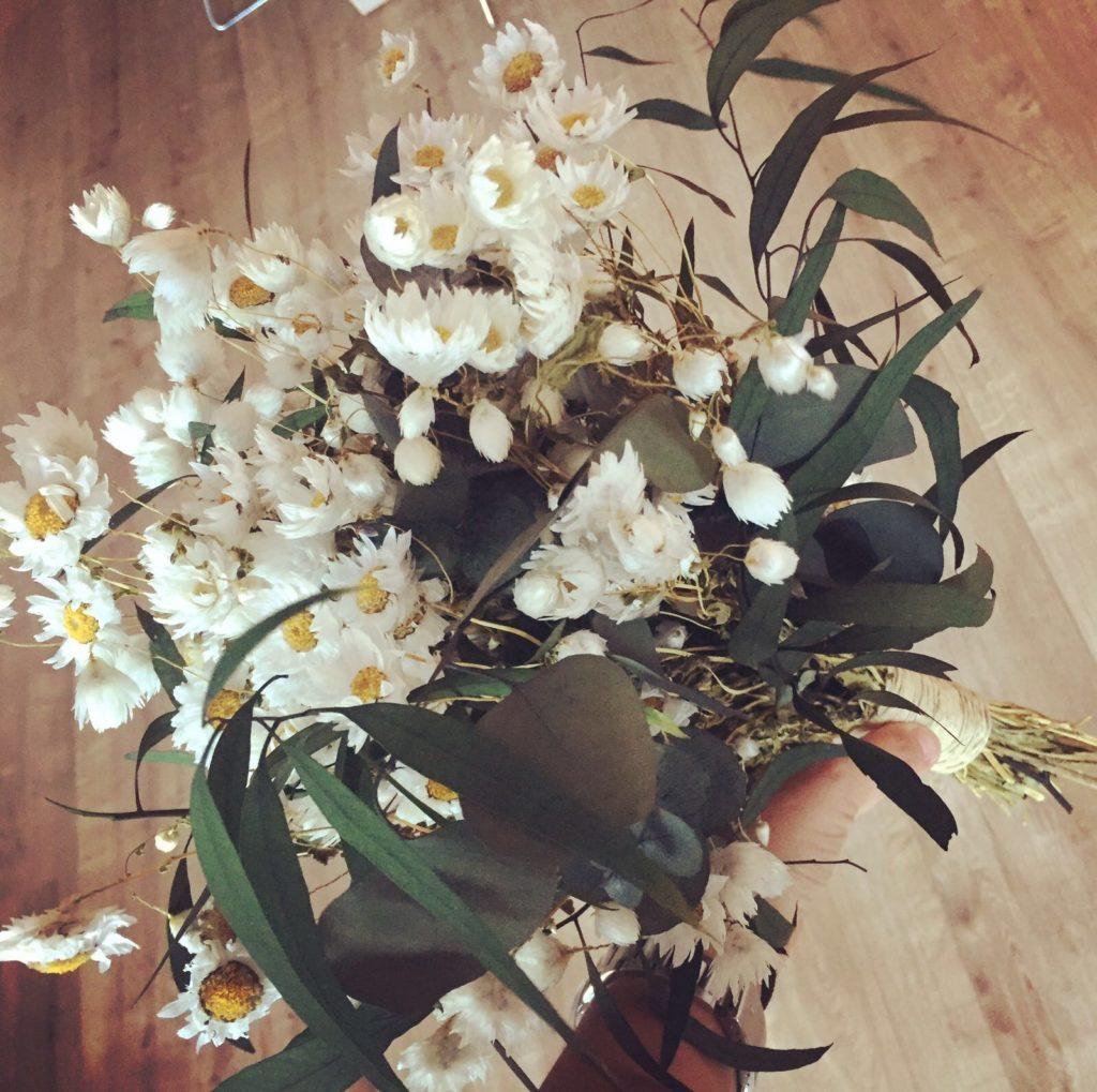 Ramo en flor preservado de Margaritas
