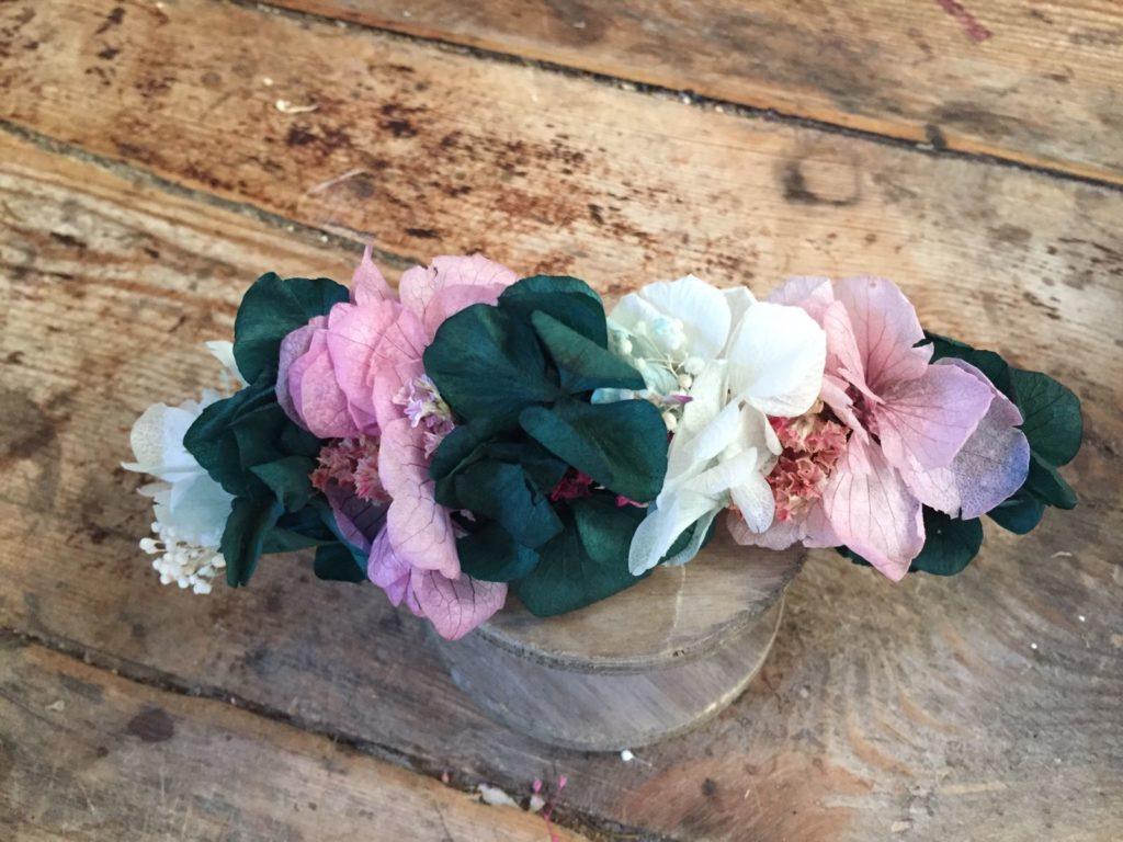 Tocado en Flor preservada