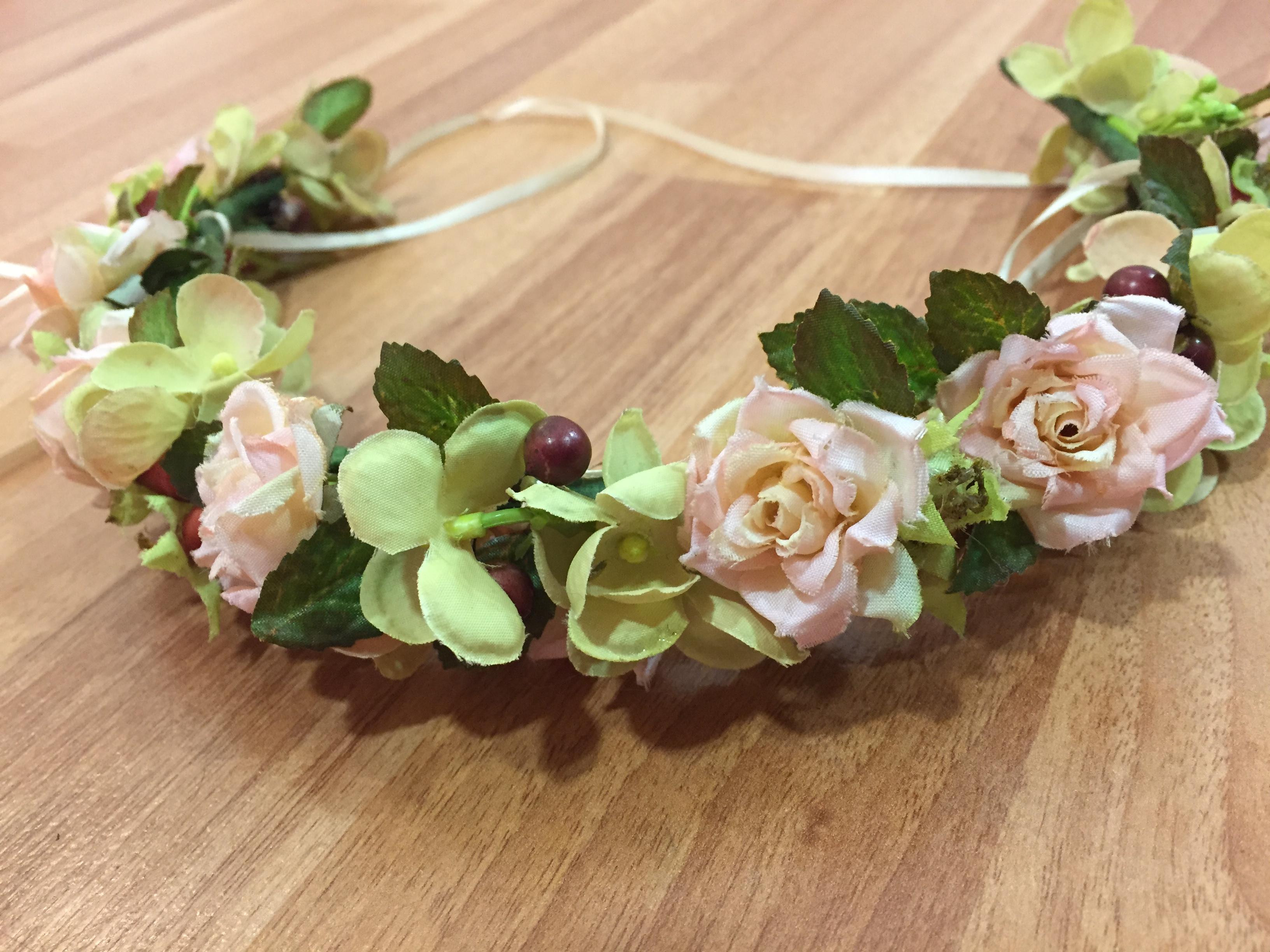 Corona Flor Artificial