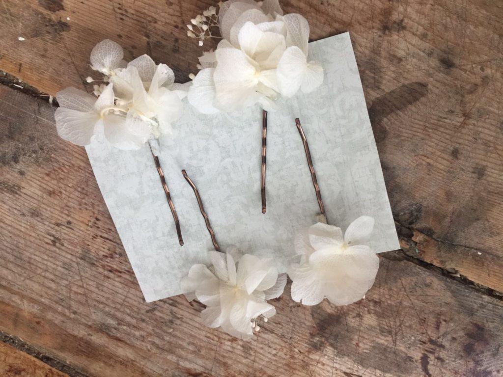 Orquillas en flor preservada