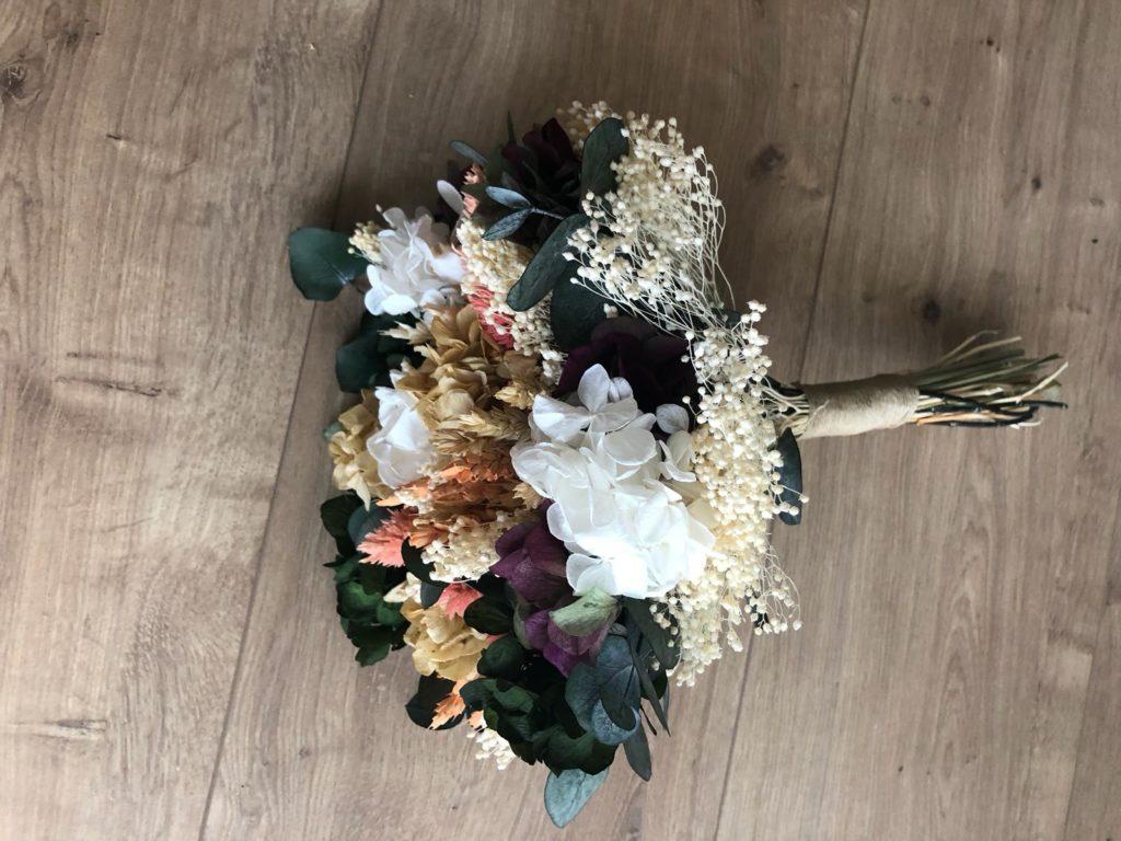 Ramo Silvestre de eucalipto y hortensia
