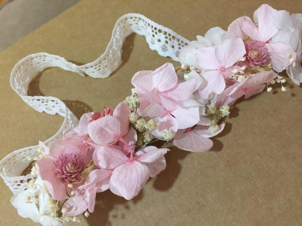 Cinta Flor Preservada Bebé